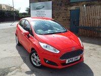 2015 FORD FIESTA 1.6 ZETEC 5d AUTO 104 BHP £8750.00
