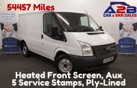 USED 2012 62 FORD TRANSIT 2.2 260 100 BHP Low Mileage 54457 Miles, F.S.H  5 Stamps ,  **Drive Away Today** Over The Phone Low Rate Finance Available, Just Call us on 01709 866668