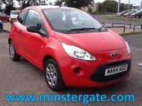 2014 FORD KA 1.2 STUDIO 3d 69 BHP * ONLY 16000 MILES, £30 TAX * £4990.00