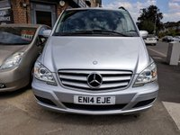2014 MERCEDES-BENZ VIANO 2.1 AMBIENTE CDI BLUEEFFICENCY 5d 163 BHP £16990.00