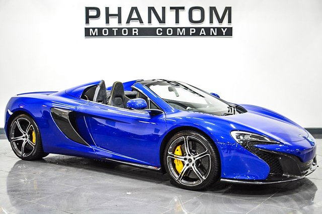 View our MCLAREN 650S