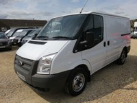 2013 FORD TRANSIT 2.2 TDCi 260 SWB LOW ROOF 100 BHP ONLY 8447 MILES FROM NEW £9995.00