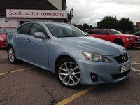 2011 LEXUS IS 2.2 200D Advance 4 door Diesel £6799.00
