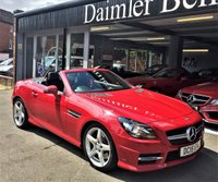 2015 MERCEDES-BENZ SLK 2.1 SLK250 CDI BLUEEFFICIENCY AMG SPORT 2d AUTO 204 BHP £17395.00
