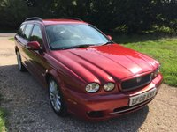 USED 2008 08 JAGUAR X-TYPE 2.2 S 5d AUTO 145 BHP H/Leather, C/Control, F/S/H