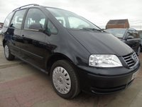 2006 VOLKSWAGEN SHARAN 1.9 S TDI 130 BHP WHEELCHAIR ACCESS  £3595.00