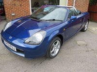 2002 TOYOTA MR2 1.8 ROADSTER SMT HARD TOP 2d AUTO 138 BHP £SOLD