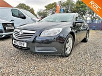 2013 VAUXHALL INSIGNIA 2.0 EXCLUSIV CDTI ECOFLEX S/S 5d  £SOLD