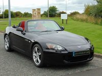 USED 2009 09 HONDA S 2000 2.0 16V 2d 236 BHP RED LEATHER, GREAT HISTORY