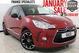 USED 2016 16 DS DS 3 1.6 BLUEHDI DSTYLE S/S 3DR FREE ROAD TAX FULL SERVICE HISTORY FULL SERVICE HISTORY + 0% FINANCE AVAILABLE T&C'S APPLY + FREE 12 MONTHS ROAD TAX + BLUETOOTH + CRUISE CONTROL + AIR CONDITIONING + RADIO/CD + ELECTRIC WINDOWS + 17 INCH ALLOY WHEELS