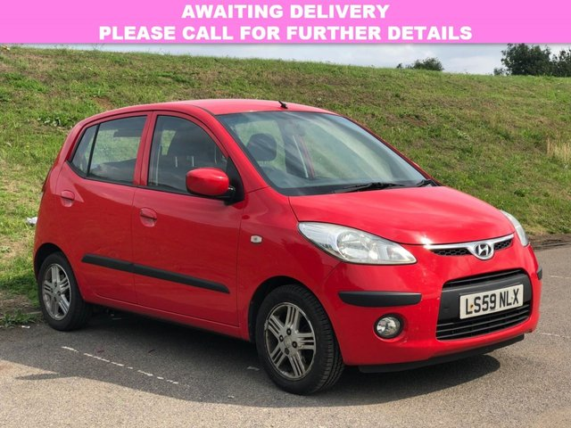 View our 2009 59 HYUNDAI I10 1.2 COMFORT 5d 77 BHP