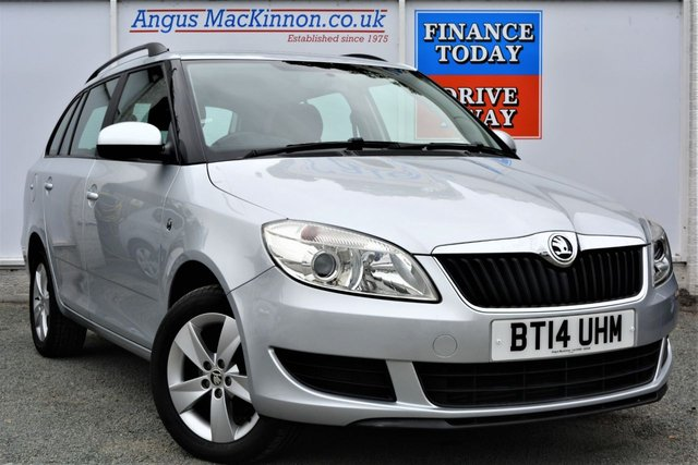 2014 14 SKODA FABIA 1.6 SE TDI CR Great Value 5d Estate with Low Road Tax and High 67mpg