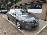 USED 2012 VAUXHALL ASTRA 1.4 SRI 5d 98 BHP # PARKING SENSORS # 2 KEYS # CRUISE CONTROL # 2 KEEPERS #