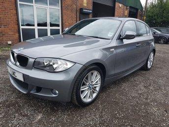 2010 BMW 1 SERIES 2.0 118D M SPORT 5DR 141 BHP VERY LOW MILES  £7491.00