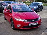 2010 HONDA CIVIC 1.3 I-VTEC SI 5d 98 BHP £4495.00