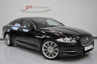 2010 JAGUAR XJ 3.0 D V6 PORTFOLIO SWB 4d AUTO 275 BHP REAR ENTERTAINMENT  £12950.00