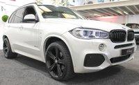 """USED 2014 14 BMW X5 3.0 XDRIVE30D M SPORT 5d AUTO 255 BHP *7 SEATS-BLACK PACK-21""""ALLOYS*"""