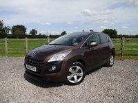 2013 PEUGEOT 3008 1.6 E-HDI ACTIVE 5d AUTO 115 BHP £7490.00