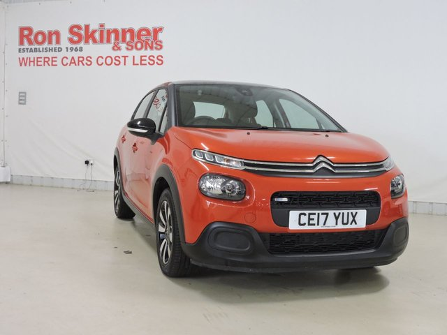 View our 2017 17 CITROEN C3 1.2 PURETECH FEEL 5d 81 BHP