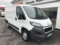 2015 PEUGEOT BOXER 330 PROFESSIONAL 2.2 HDi 110 L1 H1 6-Speed SWB £9995.00