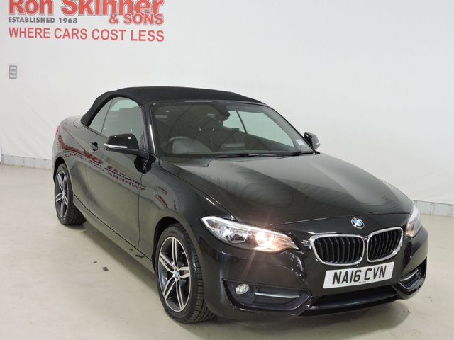 View our 2016 16 BMW 2 SERIES 2.0 218D SPORT 2d 148 BHP