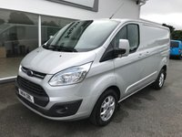 2014 FORD TRANSIT CUSTOM 270 LIMITED 2.2 TDCi 125 6-Speed L1 H1 SWB £11995.00