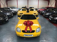 1998 MERCEDES-BENZ SLK SLK230 KOMPRESSOR 2.3 2d AUTO £2950.00