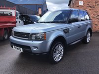USED 2011 11 LAND ROVER RANGE ROVER SPORT 3.0 TDV6 HSE 5d 245 BHP Stunning Range Rover sport with full service History