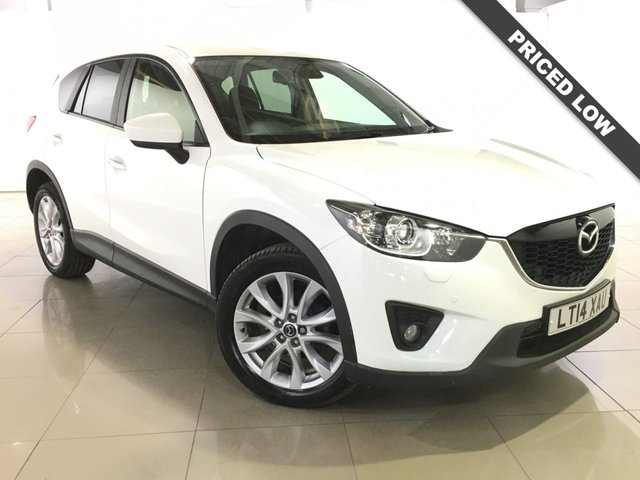 View our 2014 14 MAZDA CX-5 2.2 D SPORT NAV 5d 148 BHP