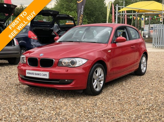 2008 57 BMW 1 SERIES 2.0 118I SE 3dr 141 BHP