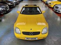 1998 MERCEDES-BENZ SLK SLK230 KOMPRESSOR 2.3 2d AUTO £3000.00