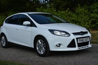 USED 2013 62 FORD FOCUS 1.6 TITANIUM TDCI 115 5d 114 BHP 1 FORMER KEEPER, FSH AND CAM-BELT CHANGED CRUISE BLUETOOTH ALLOYS TAX £20