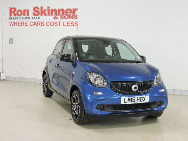View our 2016 16 SMART FORFOUR (62)    1.0 PRIME PREMIUM 5d 71 BHP