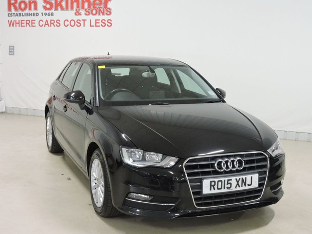 View our 2015 15 AUDI A3 1.6 TDI SE TECHNIK 5d 109 BHP