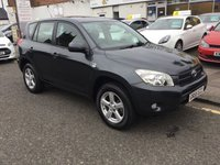 USED 2005 55 TOYOTA RAV4 2.2 XT4 D-4D 5d 135 BHP OUR  PRICE INCLUDES A 6 MONTH AA WARRANTY DEALER CARE EXTENDED GUARANTEE, 1 YEARS MOT AND A OIL & FILTERS SERVICE. 6 MONTHS FREE BREAKDOWN COVER.   CALL US NOW FOR MORE INFORMATION OR TO BOOK A TEST DRIVE ON 01315387070 !!