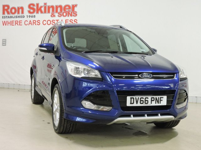 View our 2016 66 FORD KUGA 2.0 TITANIUM SPORT TDCI 5d 177 BHP with Nav + Appearance Pack