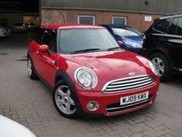 2009 MINI HATCH COOPER 1.6 COOPER D 3d 108 BHP £2480.00