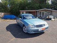2004 MERCEDES-BENZ CLK 2.7 CLK270 CDI AVANTGARDE 2d AUTO 170 BHP £2495.00