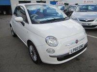 2011 FIAT 500 1.2 LOUNGE 3d 69 BHP £4495.00