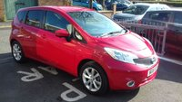 USED 2015 15 NISSAN NOTE 1.2 TEKNA DIG-S 5d 98 BHP CHEAP TO RUN , LOW CO2 EMISSIONS, £0 ROAD TAX, AND EXCELLENT FUEL ECONOMY!..TOP SPECIFICATION INCLUDING CLIMATE CONTROL, SATELLITE NAVIGATION, MEDIA, HALF LEATHER TRIM, AND ALLOY WHEELS!..FULL NISSAN HISTORY WITH 6672 MILES FROM NEW!