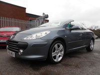USED 2005 55 PEUGEOT 307 2.0 SE COUPE CABRIOLET HDI 2d 136 BHP 1 OWNER FROM NEW FULL LEATHER