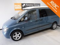 USED 2004 54 MERCEDES-BENZ VITO 2.1 109 CDI COMPACT SWB 1d 87 BHP SPECIFICATIONS INCLUDE: CONVERSION STARTED 3 YEARS AGO, POP TOP ROOF, LIGHTWEIGHT PLY FOR VAN CABINETS EXTRA STRONG MADE & INSTALLED, ELECTRIC SET UP FOR BATTERYS 2ND BLACK BOX BRAIN SUPPLIED & FITTED BY EXTREME VAN LTD SPECIALISTS. HOB & SINK INSTALLED, FRIDGE, EXTERAL 240 VOLT CONNECTION HOOK UP EXTERIOR. WATER TANK, GAS BOX & TAP INSTALLED. SPACE FOR MICROWAVE OR COOKER. SPACE FOR GENERATOR. CARPET DOWN, ALL REAR LINED COMPLETE. ROOF BED INSTALLED, ALL LIGHTS INTERNAL SET UP & WORKING.10-00 X