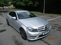 2014 MERCEDES-BENZ C CLASS 2.1 C220 CDI BLUEEFFICIENCY AMG SPORT PLUS 2d 168 BHP £13795.00