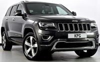 USED 2015 65 JEEP GRAND CHEROKEE 3.0 CRD Overland 4x4 5dr Auto Pan Roof, Hot/Cold Seats, Nav+