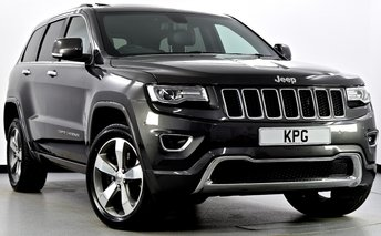 2015 JEEP GRAND CHEROKEE 3.0 CRD Overland 4x4 5dr Auto £24495.00