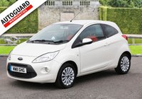 USED 2011 11 FORD KA 1.2 ZETEC 3d 69 BHP Finance from only £22 p/w!