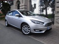 "USED 2015 15 FORD FOCUS 1.6 TITANIUM TDCI 5d 114 BHP ****FINANCE ARRANGED***PART EXCHANGE***1OWNER***""£20 TAX****"