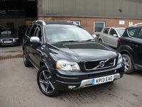 USED 2013 13 VOLVO XC90 2.4 D5 R-DESIGN NAV AWD 5d AUTO 200 BHP ANY PART EXCHANGE WELCOME, COUNTRY WIDE DELIVERY ARRANGED, HUGE SPEC