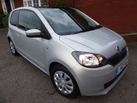 2012 SKODA CITIGO 1.0 SE GREENTECH 3d 59 BHP Extra Spec Car, Panoramic Sunroof £4665.00
