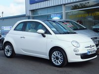 USED 2014 64 FIAT 500 1.2 LOUNGE 3dr (PANORAMIC ROOF)